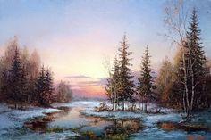 eugen burmakin art paintings landscapes