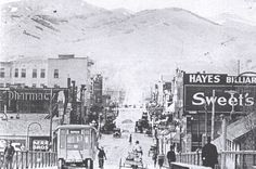 Historical Photos, Idaho, Railroad Tracks, 1930s, Theatre, The Past, Southern, Advertising, History