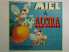 "Naranjas ""Miel de Alzira"" F. García.  Alzira."
