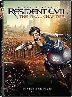 Resident Evil The Final Chapter NEW DVD, 2017 Horror NOW SHIPPING !
