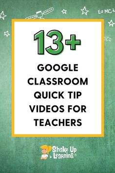 Do you use Google Classroom? In this post, I'm sharing 13  Google Classroom quick tip videos for teachers! Free Teaching Resources, Teacher Resources, Google Keep, E Mc2, Social Thinking, Group Work, Google Classroom, Educational Technology, Apps