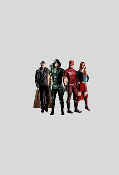 Heroes Join Forces ~ MY BODY IS READY FOR THE BIG CROSSOVER ~ SUPERGIRL ※ THE FLASH ※ ARROW ※ LEGENDS OF TOMORROW