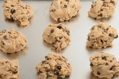 Protein Chocolate Chip Ball Cookies: The classic chocolate chip cookie joins with some healthy protein and new ingredients to make a yummy vegan treat you won't forget.