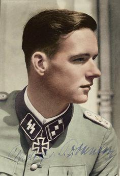 """✠ Rudolf von Ribbentrop (11 May 1921) RK 15.07.1943 SS-Obersturmführer Führer 6./SS-Pz.Rgt """"LSSAH"""""""