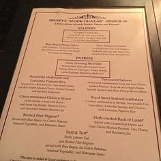 Updated September 25, 2016 I attended the first Halloween Party on September 23, 2016. Check these posts for MANY photos and details, including the menu and food details from the Blue Bayou dinner option with reserved viewing for the parade. Part 1 Part 2 So, Halloween is one of my favorite...