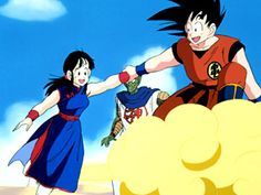 I really wish they did a whole season of just Goku and Chichi flying around having adventures.