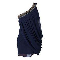 Greek Dress with single shoulder #FiveYearsofFalafel