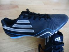 pretty nice 8f35e d0c41 New Adidas Spider 2 M Track Field Running Spikes Shoes Athletisme Black Mens  9