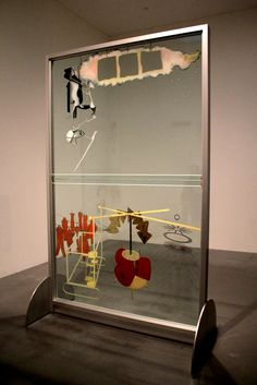 Marcel Duchamp, The Bride Stripped Bare by Her Bachelors, Even (The Large Glass