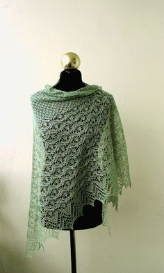 hand knitted luxurious baby camel and silk lace shawl by DagnyKnit, $145.00