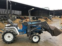 Small Tractors, Compact Tractors, Utility Tractor, Tractor Loader, Ford Tractors, Farming, Outdoor Power Equipment, Lawn, Homemade