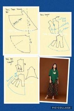 Kebaya par lesley Kebaya Lace, Kebaya Brokat, Kebaya Dress, Batik Kebaya, Batik Dress, Dress Sewing Patterns, Sewing Patterns Free, Clothing Patterns, Patterns Of Fashion
