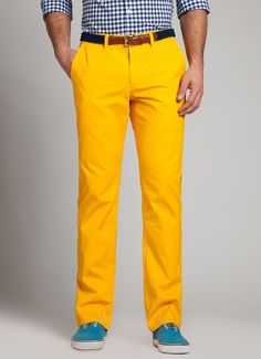 Dandy Lions -- Straight Leg Washed Chinos
