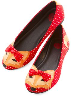 Clever So Sweet Flat in Red, $59.99. | 31 Foxy Additions To Your Spring Wadrobe
