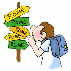 Preguntando se llega a Roma / Literally: by inquiring that one arrives at Rome. So, don't be afraid to ask if you don't know.  #VenezuelanSayings #Expressions #Spanish #Español