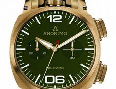 Nouveauté : Anonimo - Militare Alpini Chrono Chrono | Passion des montres - lesoir.be