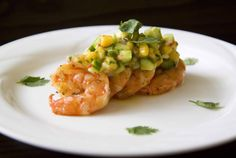 Food Makes Me Happy: Grilled Shrimps with Mango Salsa (and a Kick of Deadly Chilies)