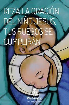 Catholic Prayers, Novena Prayers, Faith Prayer, God Prayer, Prayer Images, Spanish Prayers, Journal Questions, Good Night Prayer, Inspirational Prayers