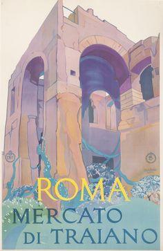 Slap! Affiche vintage - Roma by Vittorio Grassi