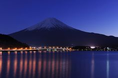 Blue Fuji #japan #yamanashi