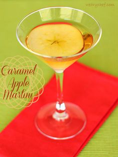 Caramel Apple Martini and a $1000 CASH Giveaway! (ends 11/22/13)