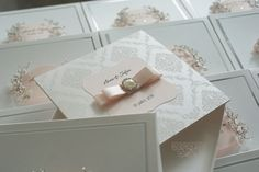 handmade wedding invitations by Nadezhda Baziv