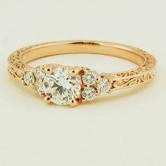 stunning ring  white gold would make this wonderful :)