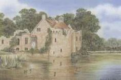 Scotney Castle with just 6 pencils