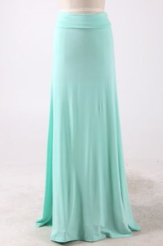 I like the flare in this skirt. Womens modest flared maxi skirts restocked in mint S-XL available. #modest #skirts