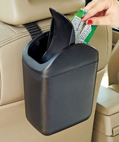 car trash can - helps keep the car so much cleaner!