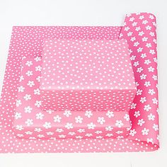 Flower Double Sided Wrapping Paper - wrapping paper