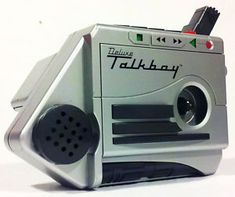 Early 90's Toy - Deluxe Talkboy - Home Alone 2: Lost in New York!  Had one. Miss mine dearly!
