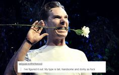 Benedict Cumberbatch and tumblr text posts