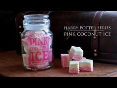 Honeydukes Pink Coconut Ice | Harry Potter Series | Food in Literature