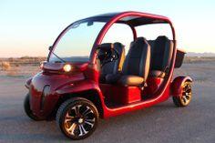 Custom Gem car by Innovation Motorsports Gem Cars, Custom Golf Carts, Mobility Scooters, Custom Cars, Innovation, Electric, Product Launch, Gems, Bike