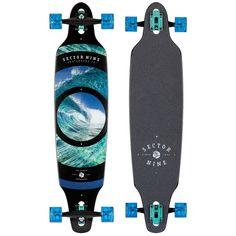 Skateboard Art, Surfboard Art, Skateboard Design, Vans Girls, Surf Girls, Cool Longboards, Sector Nine, Burton Snowboards, Longboard Design