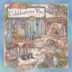 Kim Jacobs Cobblestone Way 2012 Wall Calendar