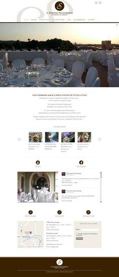 www.ilsorrisoricevimenti.it Desktop Screenshot, Zero, Web Design, Design Web, Website Designs, Site Design