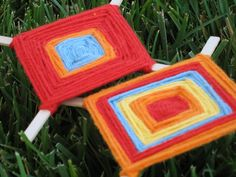 I have become some what fascinated with the beautiful simplicity of the Ojo De Dios. The Ojo has roots in the ancient Huichol Indians of M...