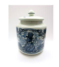 Humidor by Royal Goedewagen Holland - Keramik Topf -Tabaktopf von…
