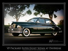 '49 Packard Super Eight Sedan at Daybreak