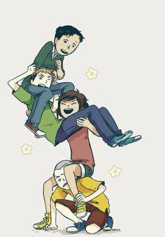 Marco, Jean, Sasha & Connie