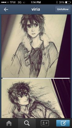This is a perfect Nico di Angelo #viria