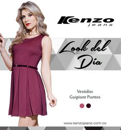 ¿Temporada de calor? y ¿No sabes que utilizar? No te preocupes y lleva siempre contigo todo el estilo #KenzoJeans  Conoce más en www.kenzojeans.com.co