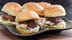 This pork belly slider recipe includes homemade rub, sauce and slaw dressing, piled up on Hawaiian sweet rolls! Flavor overload! Pork Belly Burnt Ends, Best Slider, Slaw Dressing, Hawaiian Sweet Rolls, Slider Recipes, Bbq Pork, Cooking Instructions, Barbecue Recipes, Smoking Meat