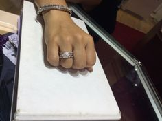 Congratulations Isabel! Great combination!  #MiamiLakesJewelers #Pandorarings