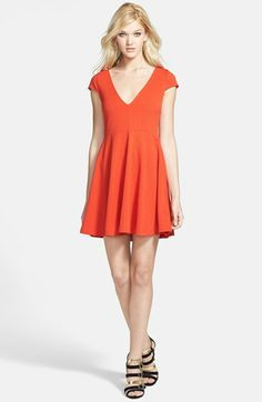 Skater Dresses are flattering on everyone. #Nordstrom #SMUstyle #TheStylishTailgater