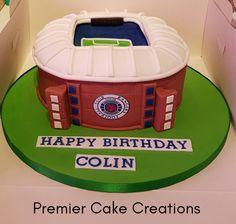 Rangers football stadium cake