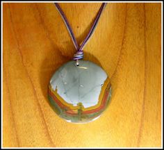 2nds Drawer  BIG Rocky Butte Jasper Pendant