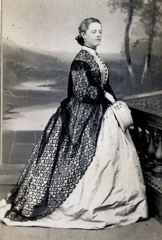 BELLE of The SOUTH by BANGER, RICHMOND, VIRGINIA VA 1860s CDV SOUTHERN BELLE